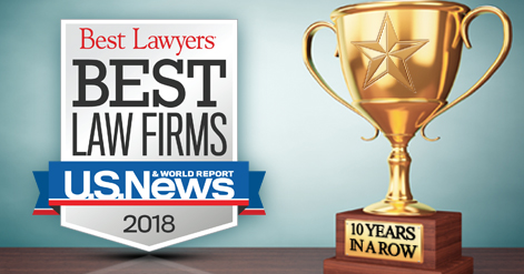 US News, Best Lawyers Name Provost Umphrey to Best Law Firms 2018