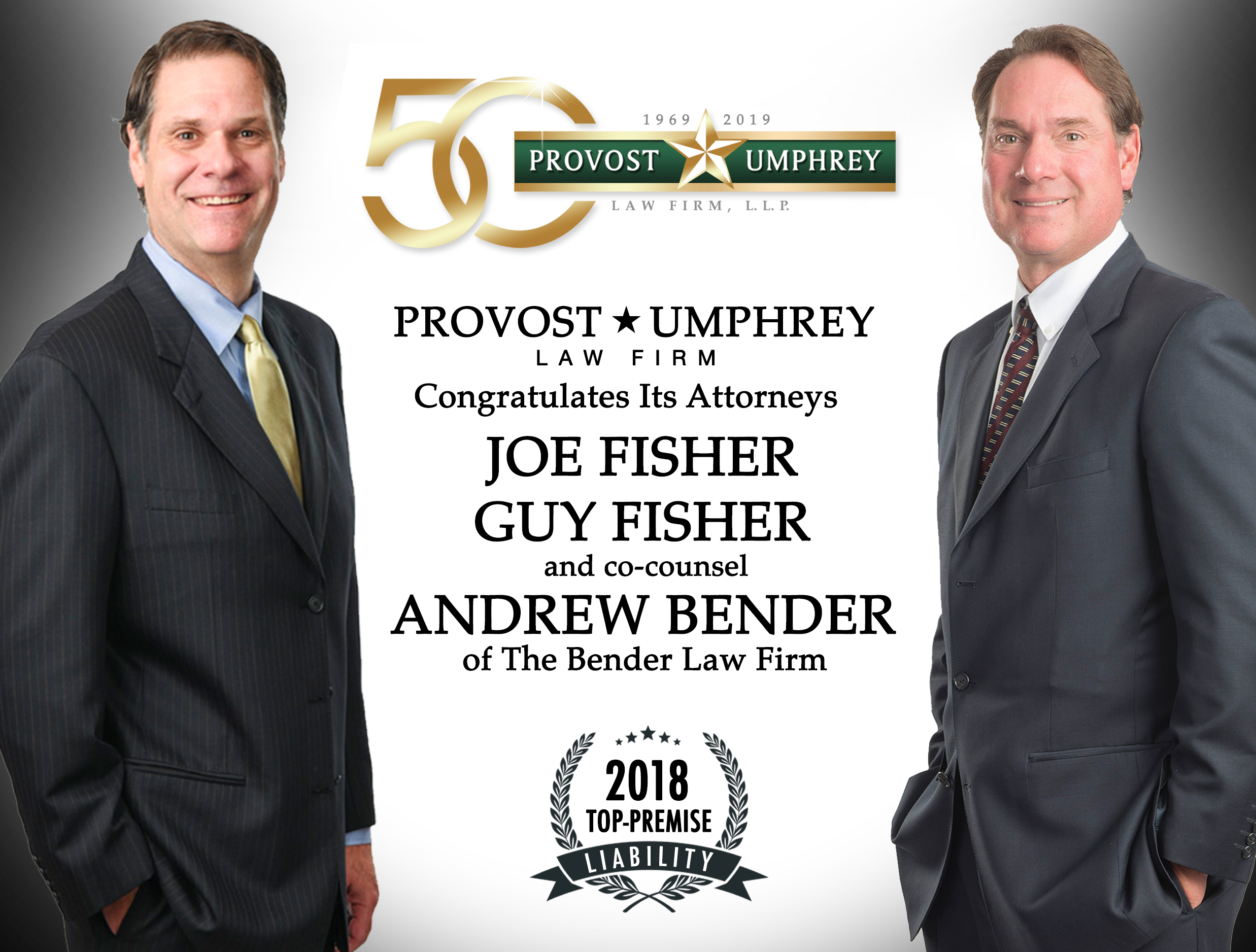 Fisher Brothers Earn Texas Top Premises Liability Verdict