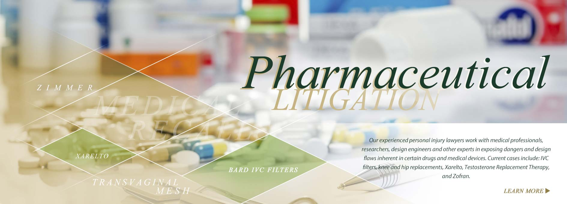 Pharmaceutical Litigation Attorney